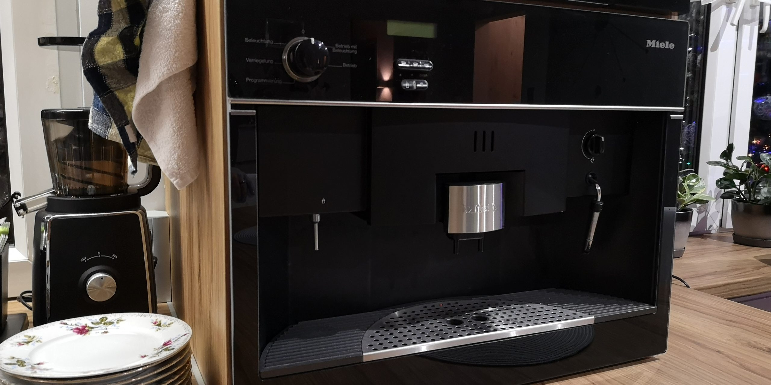 MIELE Integrated Coffee machine