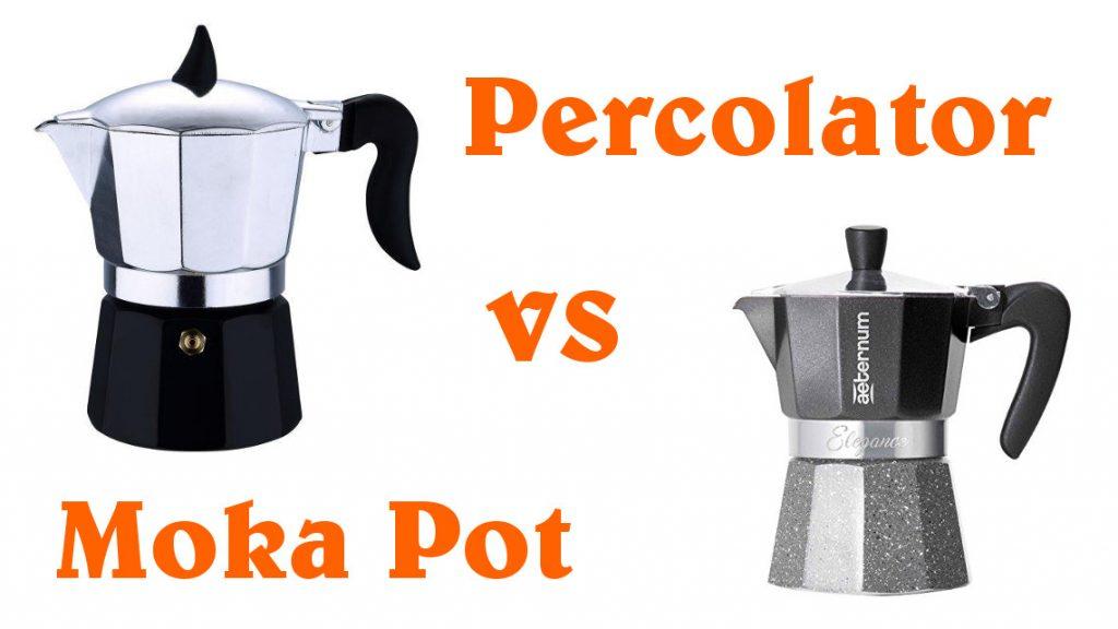 Percolator vs Moka Pot - comparison