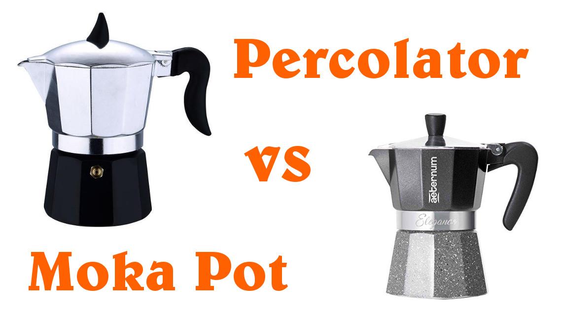 Moka pot vs. percolator. What is the difference?